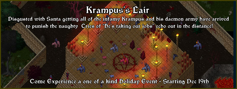 Krampus Lair Continent Event