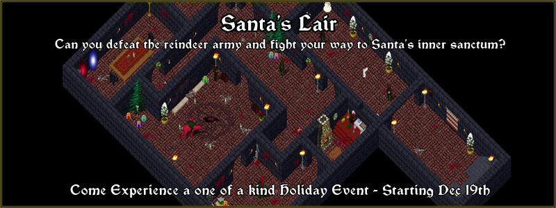 Santa's Lair Event