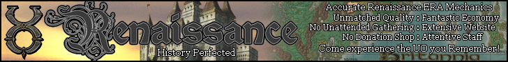 UO Renaissance - History Perfected