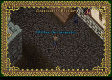 Ultima Online Carpenter