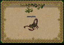 Ultima Online Scorpion