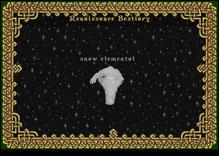 Ultima Online SnowElemental