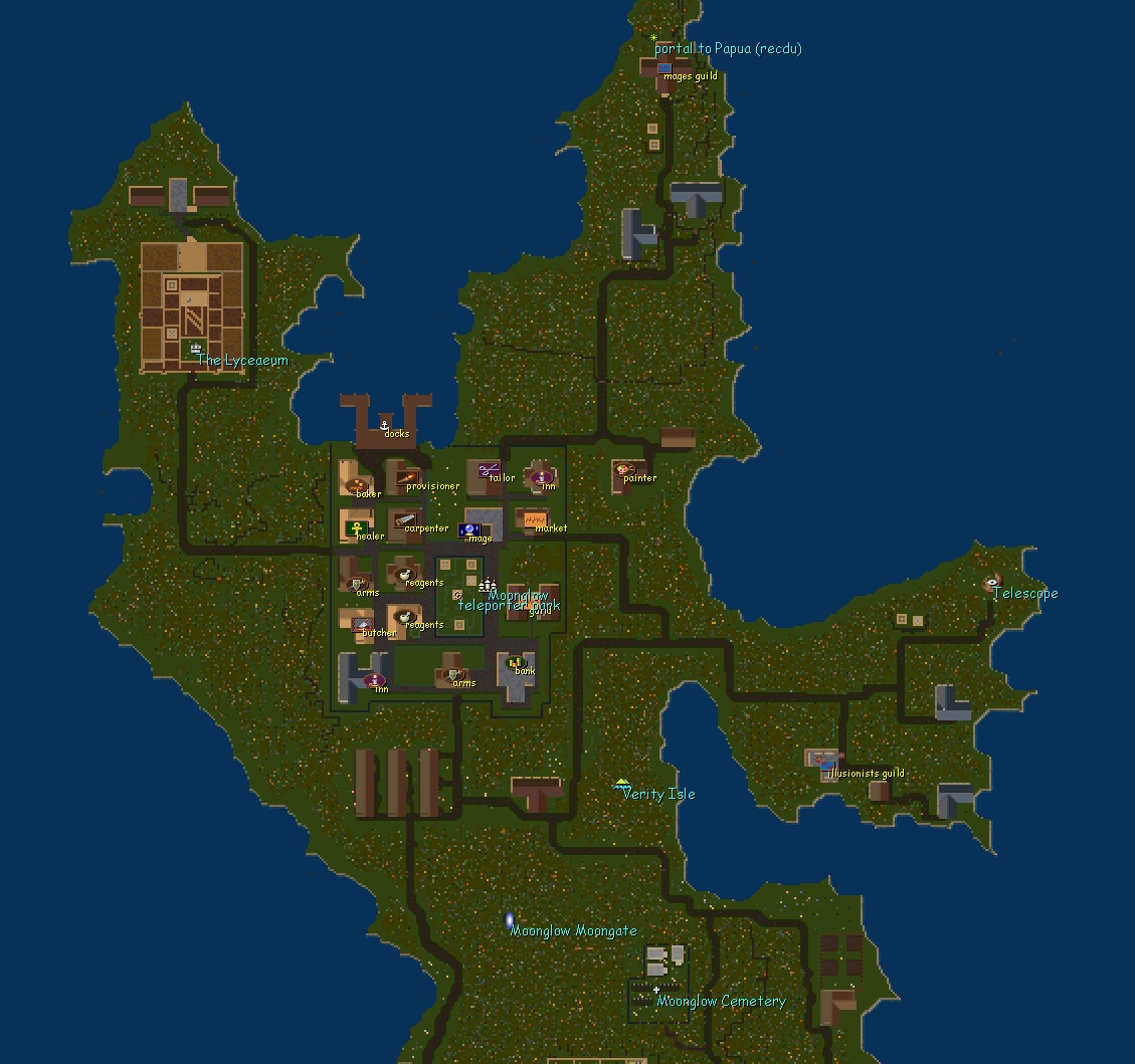 Place Moonglow Uo Renaissance An Ultima Online Free Shard