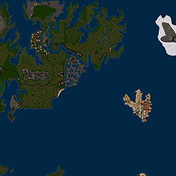 UOR World Map : History Perfected : A Renaissance era Ultima Online